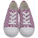 SCALES3 WHITE MARBLE & PINK DENIM (R) Kids  Low Top Canvas Sneakers View1