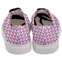 SCALES3 WHITE MARBLE & PINK DENIM (R) Women s Classic Low Top Sneakers View4