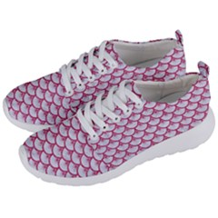 SCALES3 WHITE MARBLE & PINK DENIM (R) Men s Lightweight Sports Shoes