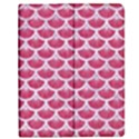 SCALES3 WHITE MARBLE & PINK DENIM Apple iPad Mini Flip Case View1