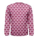 SCALES3 WHITE MARBLE & PINK DENIM Men s Long Sleeve Tee View2
