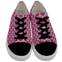 SCALES3 WHITE MARBLE & PINK DENIM Men s Low Top Canvas Sneakers View1