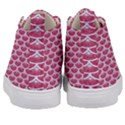 SCALES3 WHITE MARBLE & PINK DENIM Kid s Mid-Top Canvas Sneakers View4