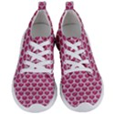 SCALES3 WHITE MARBLE & PINK DENIM Women s Lightweight Sports Shoes View1
