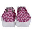 SCALES3 WHITE MARBLE & PINK DENIM Kids  Lightweight Sports Shoes View4