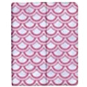 SCALES2 WHITE MARBLE & PINK DENIM (R) Apple iPad 3/4 Flip Case View1