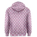 SCALES2 WHITE MARBLE & PINK DENIM (R) Men s Zipper Hoodie View2