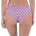 SCALES2 WHITE MARBLE & PINK DENIM (R) Reversible Classic Bikini Bottoms View4