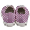 SCALES2 WHITE MARBLE & PINK DENIM (R) Women s Low Top Canvas Sneakers View4
