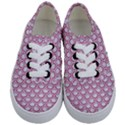 SCALES2 WHITE MARBLE & PINK DENIM (R) Kids  Classic Low Top Sneakers View1