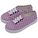 SCALES2 WHITE MARBLE & PINK DENIM (R) Kids  Classic Low Top Sneakers View2