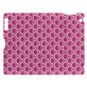SCALES2 WHITE MARBLE & PINK DENIM Apple iPad 3/4 Hardshell Case View1