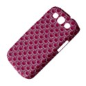 SCALES2 WHITE MARBLE & PINK DENIM Samsung Galaxy S III Classic Hardshell Case (PC+Silicone) View4