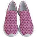 SCALES2 WHITE MARBLE & PINK DENIM Women s Lightweight Slip Ons View1