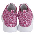 SCALES2 WHITE MARBLE & PINK DENIM Women s Lightweight High Top Sneakers View4