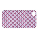 SCALES1 WHITE MARBLE & PINK DENIM (R) Apple iPhone 4/4S Premium Hardshell Case View1