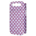 SCALES1 WHITE MARBLE & PINK DENIM (R) Samsung Galaxy S III Hardshell Case (PC+Silicone) View3