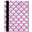 SCALES1 WHITE MARBLE & PINK DENIM (R) Apple iPad 2 Flip Case View3