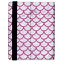 SCALES1 WHITE MARBLE & PINK DENIM (R) Samsung Galaxy Tab 8.9  P7300 Flip Case View3