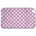 SCALES1 WHITE MARBLE & PINK DENIM (R) Samsung Galaxy Tab 3 (8 ) T3100 Hardshell Case  View1