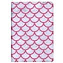 SCALES1 WHITE MARBLE & PINK DENIM (R) iPad Air 2 Flip View1