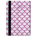 SCALES1 WHITE MARBLE & PINK DENIM (R) iPad Air 2 Flip View4