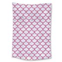SCALES1 WHITE MARBLE & PINK DENIM (R) Large Tapestry View1