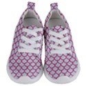 SCALES1 WHITE MARBLE & PINK DENIM (R) Kids  Lightweight Sports Shoes View1