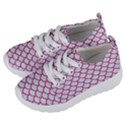 SCALES1 WHITE MARBLE & PINK DENIM (R) Kids  Lightweight Sports Shoes View2