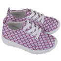 SCALES1 WHITE MARBLE & PINK DENIM (R) Kids  Lightweight Sports Shoes View3