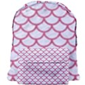 SCALES1 WHITE MARBLE & PINK DENIM (R) Giant Full Print Backpack View1