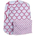 SCALES1 WHITE MARBLE & PINK DENIM (R) Giant Full Print Backpack View3