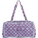 SCALES1 WHITE MARBLE & PINK DENIM (R) Multi Function Bag	 View1