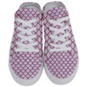 SCALES1 WHITE MARBLE & PINK DENIM (R) Half Slippers View1