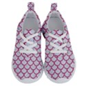 SCALES1 WHITE MARBLE & PINK DENIM (R) Running Shoes View1