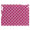 SCALES1 WHITE MARBLE & PINK DENIM Apple iPad 3/4 Hardshell Case View1