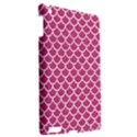 SCALES1 WHITE MARBLE & PINK DENIM Apple iPad 3/4 Hardshell Case View2