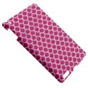 SCALES1 WHITE MARBLE & PINK DENIM Apple iPad 3/4 Hardshell Case View5