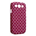 SCALES1 WHITE MARBLE & PINK DENIM Samsung Galaxy S III Classic Hardshell Case (PC+Silicone) View2
