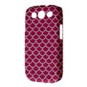 SCALES1 WHITE MARBLE & PINK DENIM Samsung Galaxy S III Classic Hardshell Case (PC+Silicone) View3