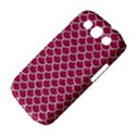 SCALES1 WHITE MARBLE & PINK DENIM Samsung Galaxy S III Classic Hardshell Case (PC+Silicone) View4