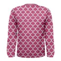 SCALES1 WHITE MARBLE & PINK DENIM Men s Long Sleeve Tee View2