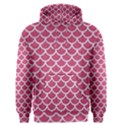 SCALES1 WHITE MARBLE & PINK DENIM Men s Pullover Hoodie View1