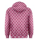 SCALES1 WHITE MARBLE & PINK DENIM Men s Pullover Hoodie View2