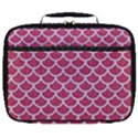 SCALES1 WHITE MARBLE & PINK DENIM Full Print Lunch Bag View1