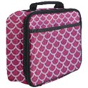 SCALES1 WHITE MARBLE & PINK DENIM Full Print Lunch Bag View3
