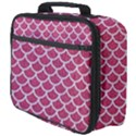 SCALES1 WHITE MARBLE & PINK DENIM Full Print Lunch Bag View4