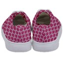 SCALES1 WHITE MARBLE & PINK DENIM Kids  Classic Low Top Sneakers View4