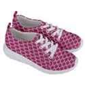 SCALES1 WHITE MARBLE & PINK DENIM Women s Lightweight Sports Shoes View3