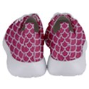 SCALES1 WHITE MARBLE & PINK DENIM Women s Lightweight Sports Shoes View4